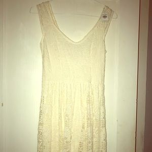 Off white dress from hollister